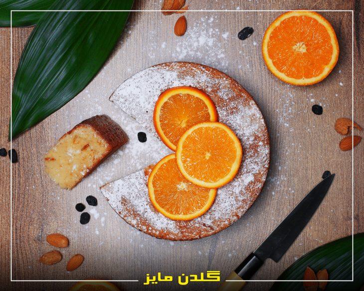 آموزش-طبخ-کیک-پرتقالی