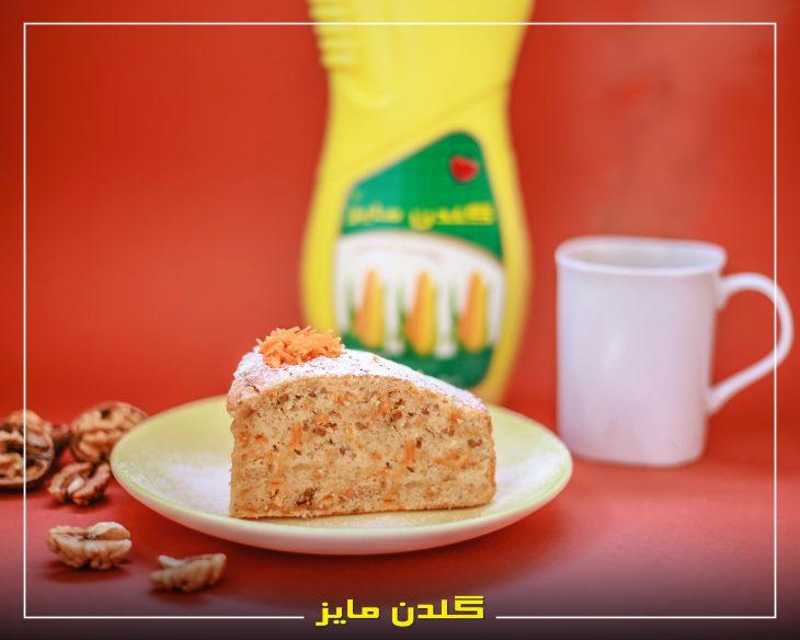 آموزش-طبخ-کیک-هویج-و-گردو